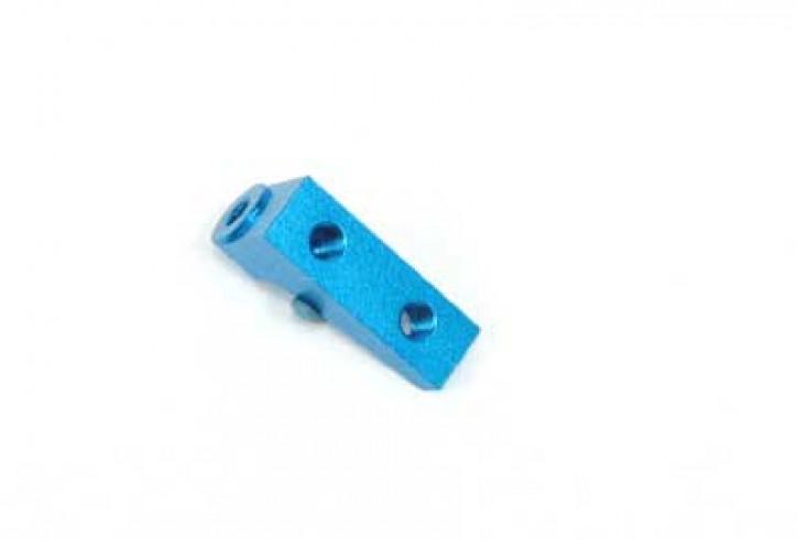 TRF416 Aluminium Servo Halter blau (A)