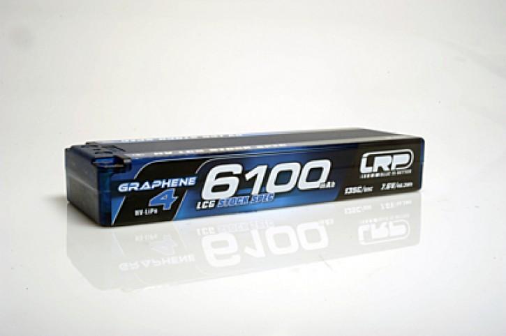LRP Graphene-4 LCG Stock Spec 6100mAh 7.6V 2S 135C/65C HV LiPo (5mm