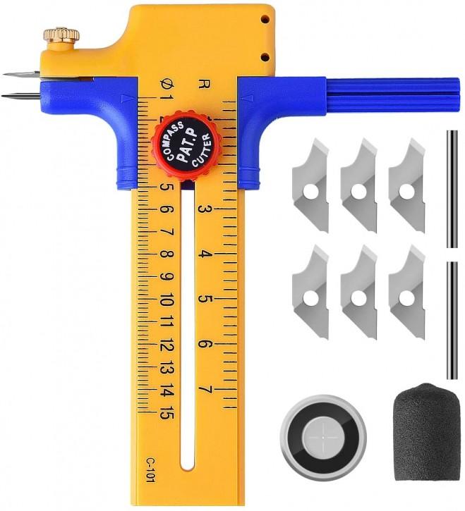 Kreisschneider Papier Rundschneider Kunststoff Rotary Compass Papier Pappe Kompass Kreisschneider Rotary