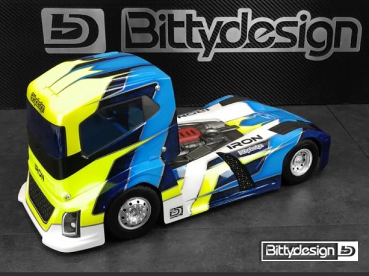Bittydesign 1/10 Truck Iron 190mm Clear BodyBittydesign