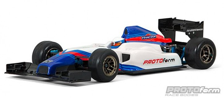 F1-Fourteen Clear Body