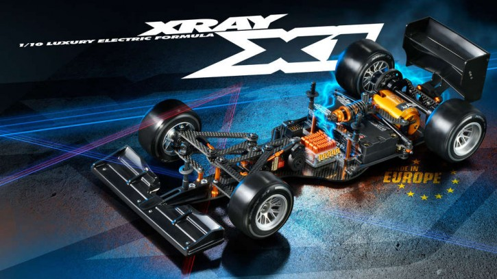 XRAY Formel X1 2016 inkl. Body
