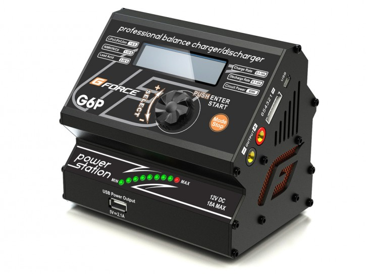 G-Force G6P AC Charger & Power Supply