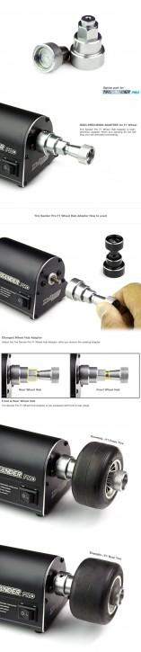 Tire Sander Pro F1 Wheel Hub Adapter