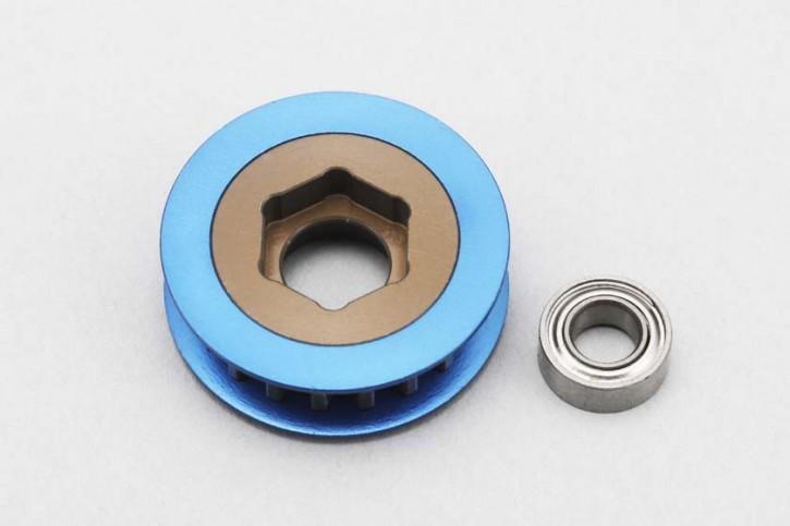 BD-7 Rear drive pulley (w/ bearings)