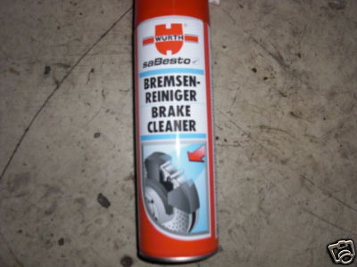 Bremsenreiniger Brake Cleaner Würth 500ml