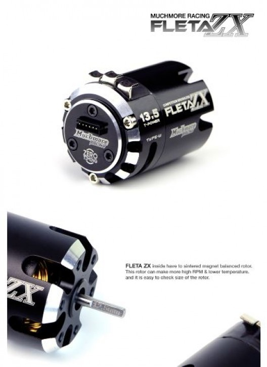 FLETA ZX 13.5T Brushless Motor Type-W Fixed Timing Version