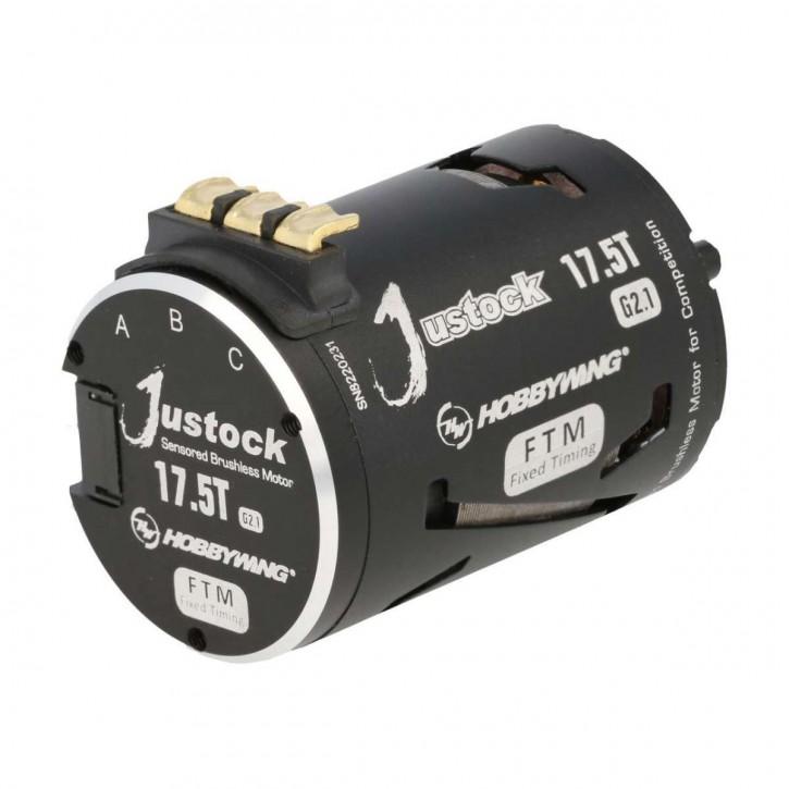 Hobbywing Xerun Justock 17.5 Turn G2.1 Motor 2450kV für 1:10 Stock