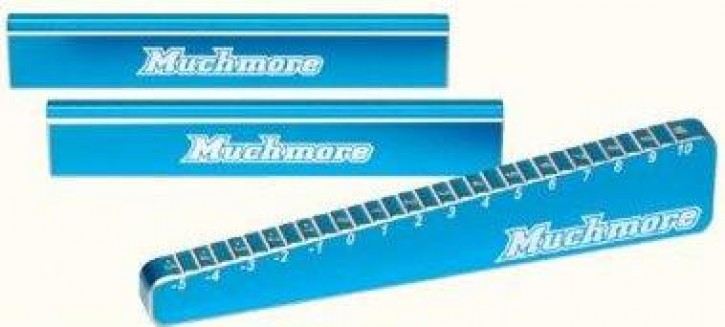 Muchmore Stepped Chassis Droop Gauge & Support Blocks for 1/8, 1/10 B
