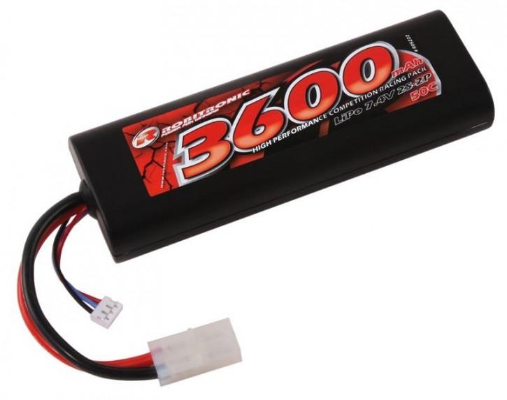 LiPo 7,4V, 3600mAh, 50C, 2S, Stick Pack