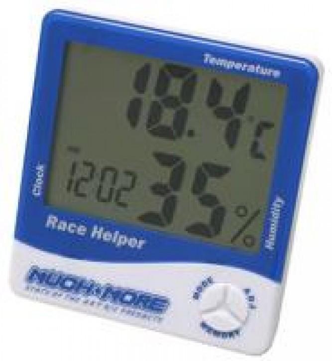 Race Helper (Uhr, Temperatur, Luftfeuchtigkeit) Blau