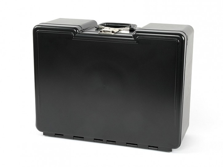 Polybutler Werkzeugkoffer mit 8 Schubladen Schwarz