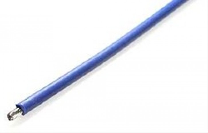 Silikonkabel 1m blau 2,5mm2 Außen d3.9mm
