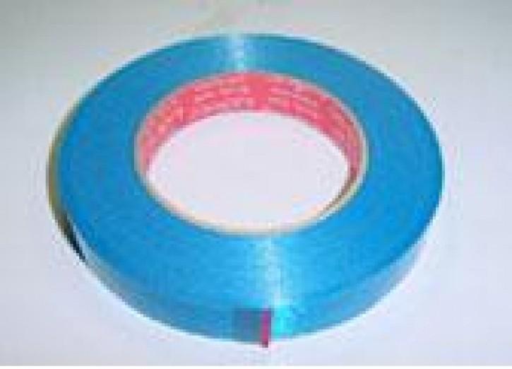 Xenon Klebeband Rolle blau oder schwarz (50mx19mm)