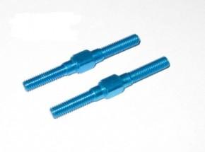 Spannachsen 3x32mm (2) ALU BLAU (9805929)