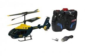 EC 135 British Police 3 Kanal Mini-Heli mit Gyro