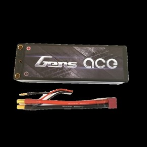 GENS ACE 6000mAh 7.4V 70C 2S1P Series with Black HardCase