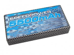 SpeedPower Lipo 3,7V 1S 5500mAh 45C