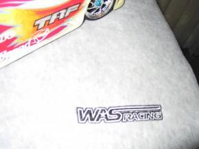 WAS Racing Schrauber-Tuch grau